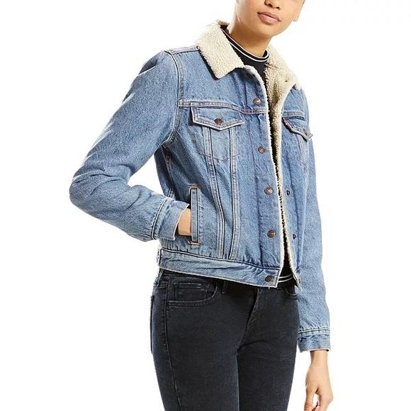 Levi Sherpa Jacket - worn once!